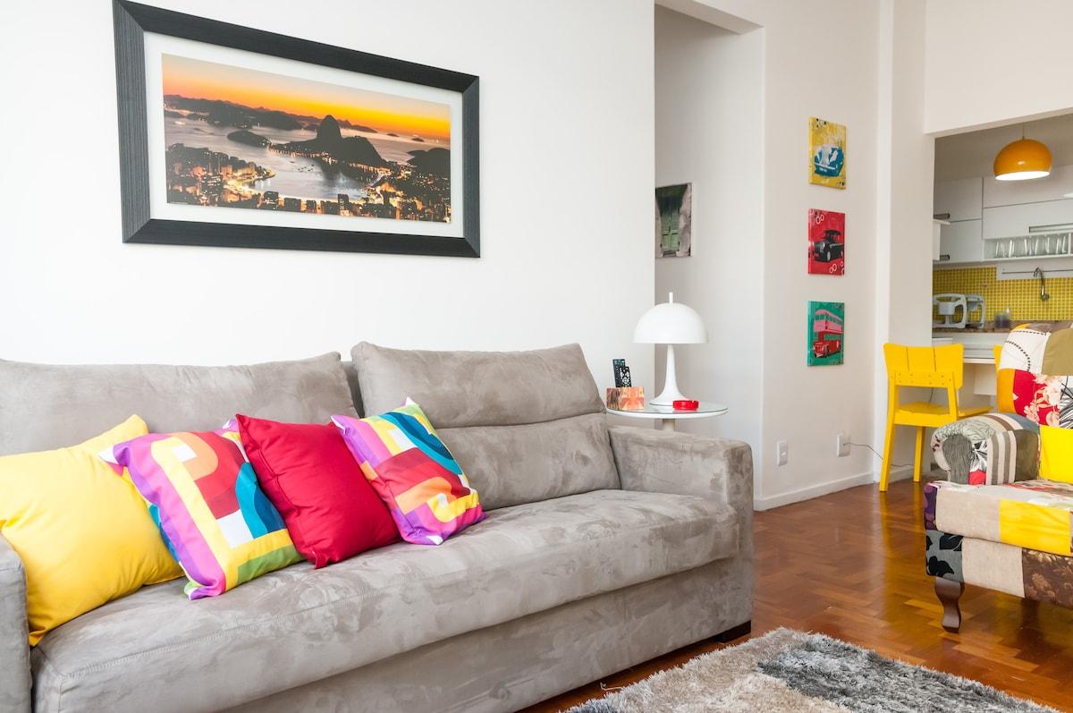 Fantástico apartamento Copacabana