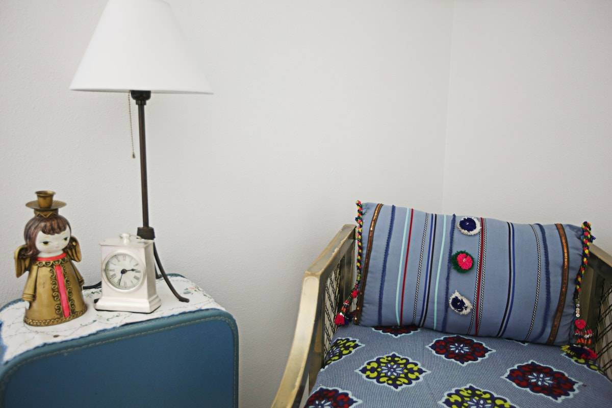 Cute little private reading space in our Hawthorne room.