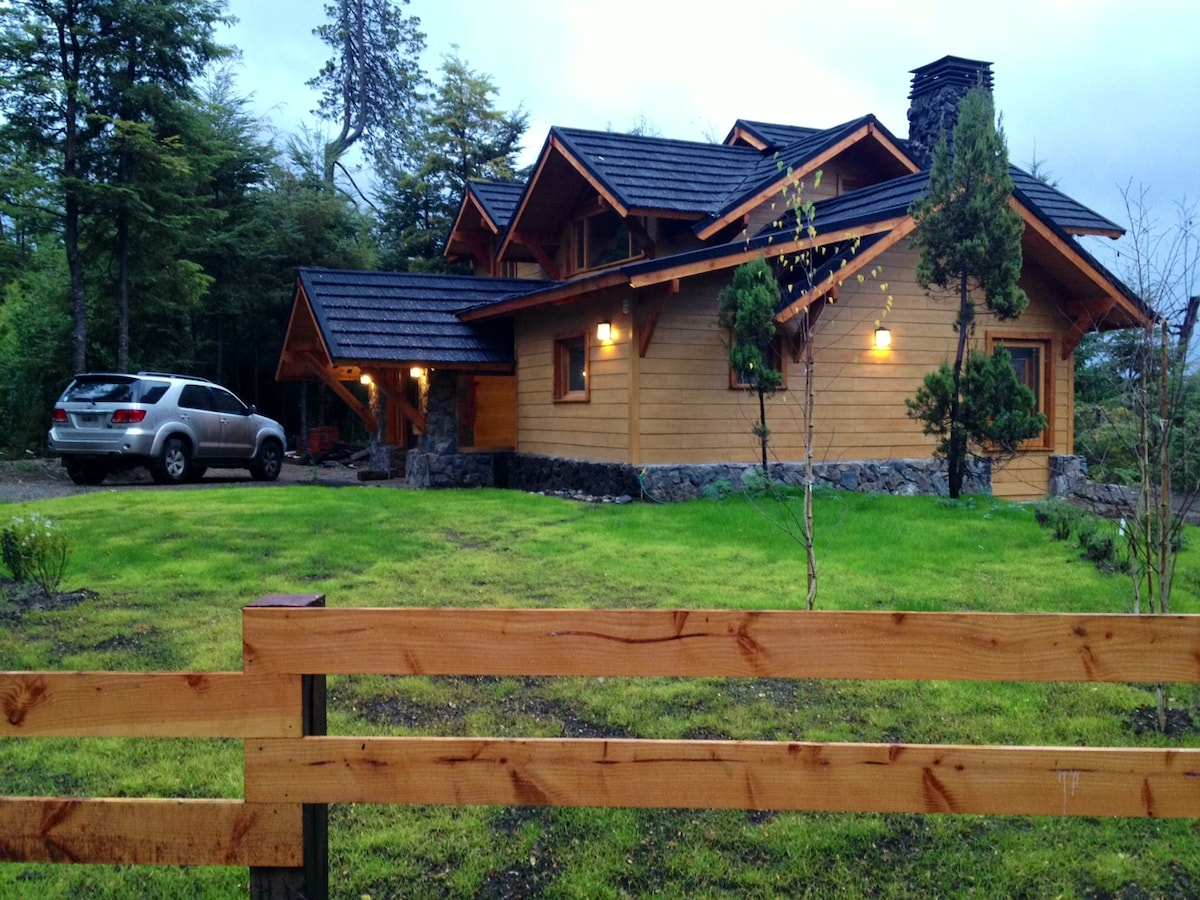 Our house in the summer