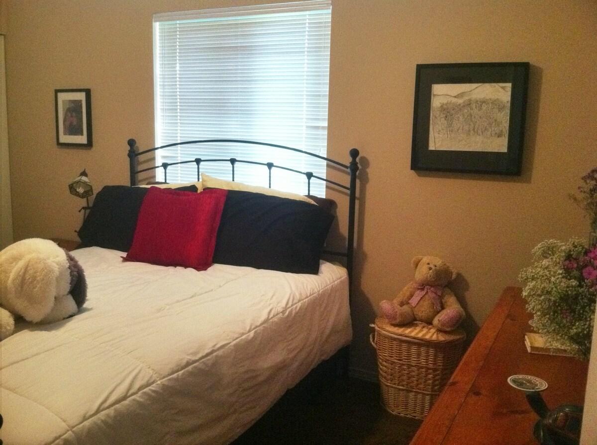 Queen Bedroom in House West Seattle