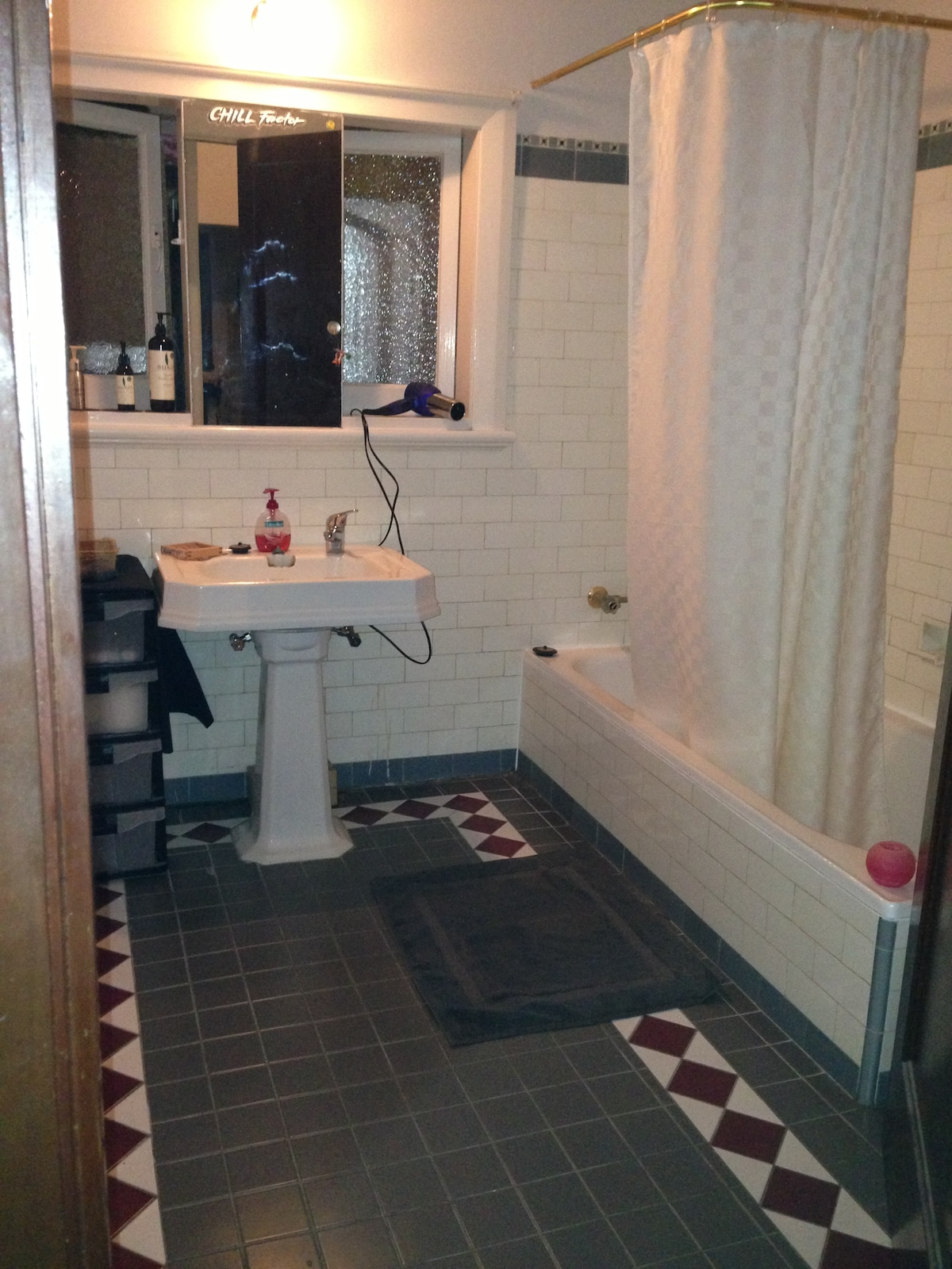 Your own bathroom - complete with Shower, toilet and bath