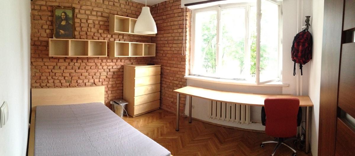 Spacious quiet apartment in Gdynia