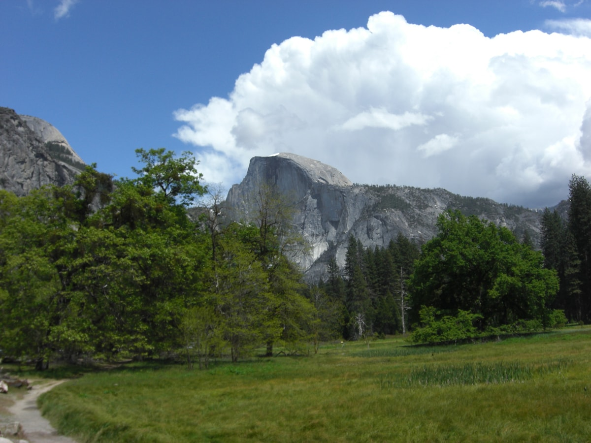 Yosemite's Half Dome in Spring - One of the Wonders of the World