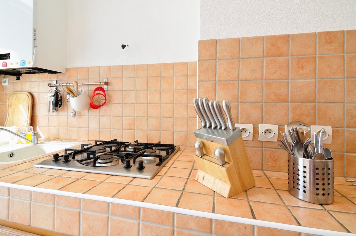 Vous pourrez cuisiner facilement / You can easily cook