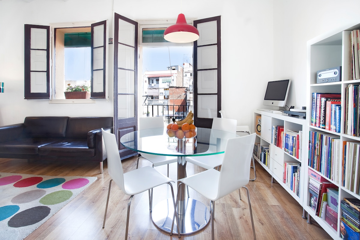 Lovely double room in central BCN