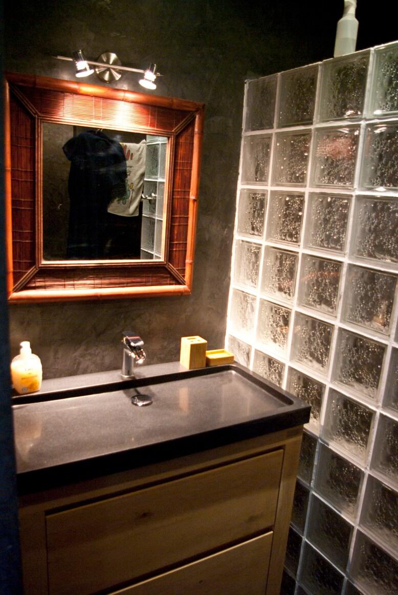 salle de bain + linge fourni