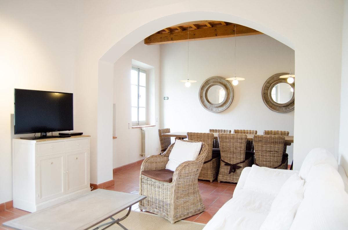 villa padronale stile toscano