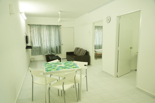 Malacca City 2 Rooms Flat