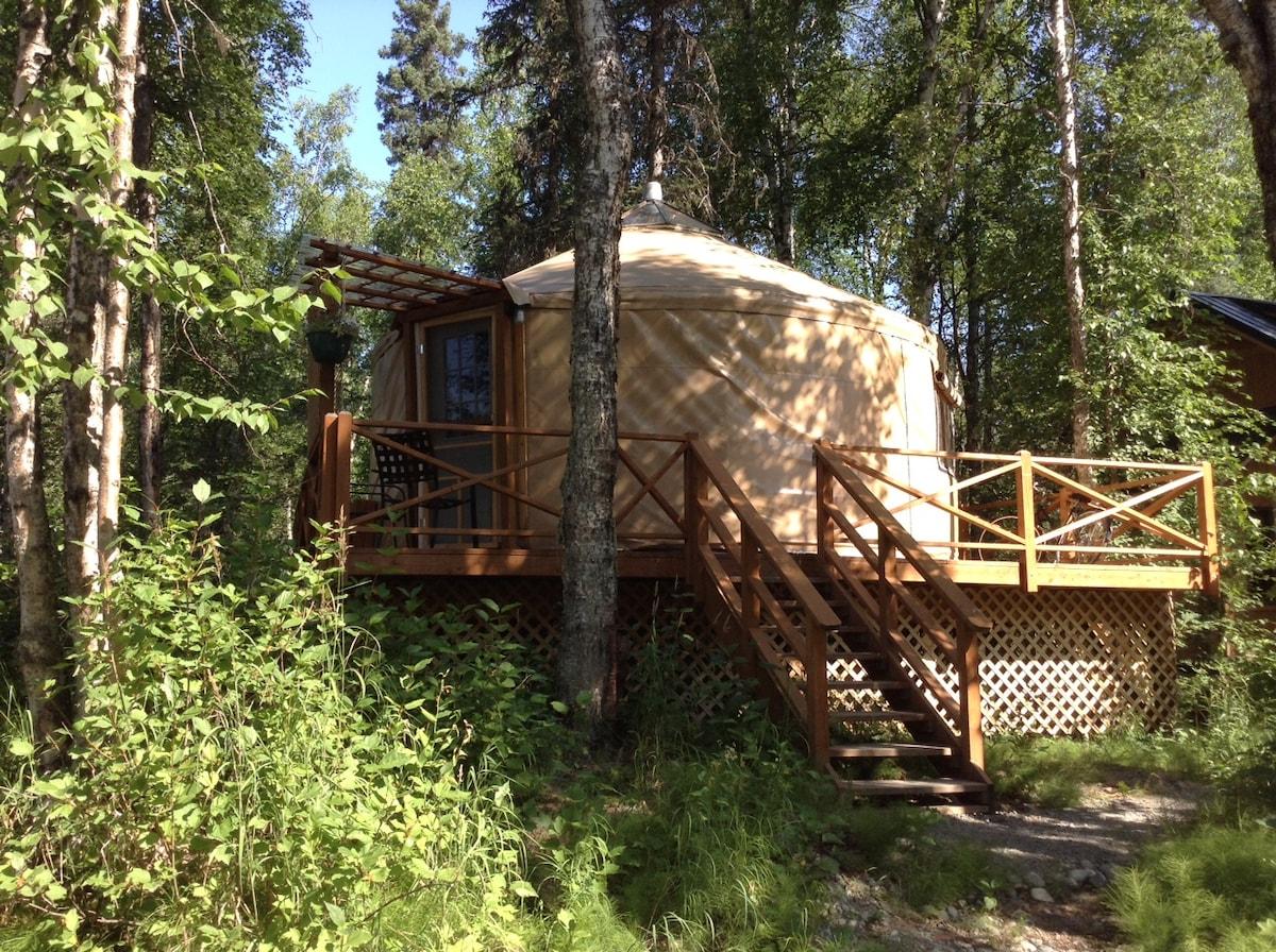 talkeetna east side cabins LLC yurt