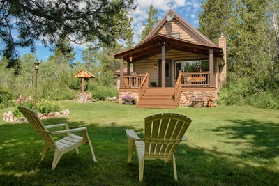 Yellowstone Cabin Vacation Rental In Island Park