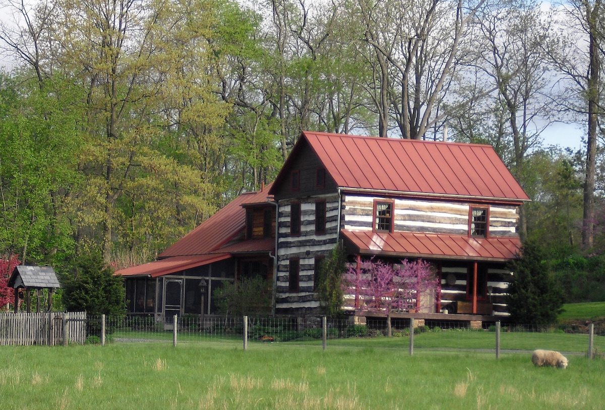 The Log House at Clear Springs Mill