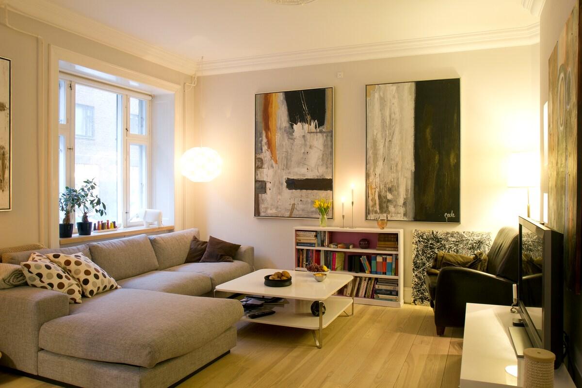 Apartment in central Copenhagen