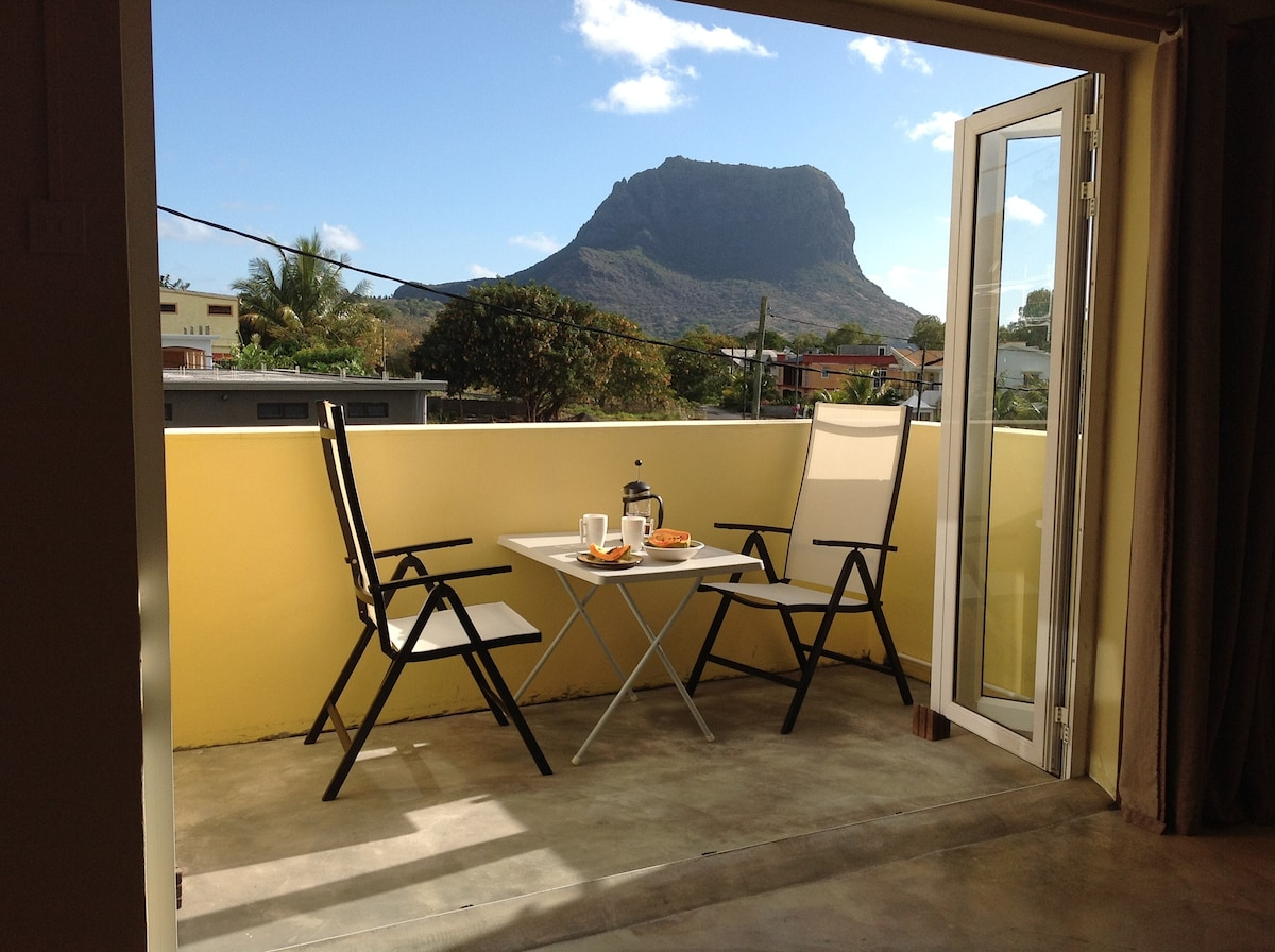 Beautique Studio 2 Balcony Le Morne View