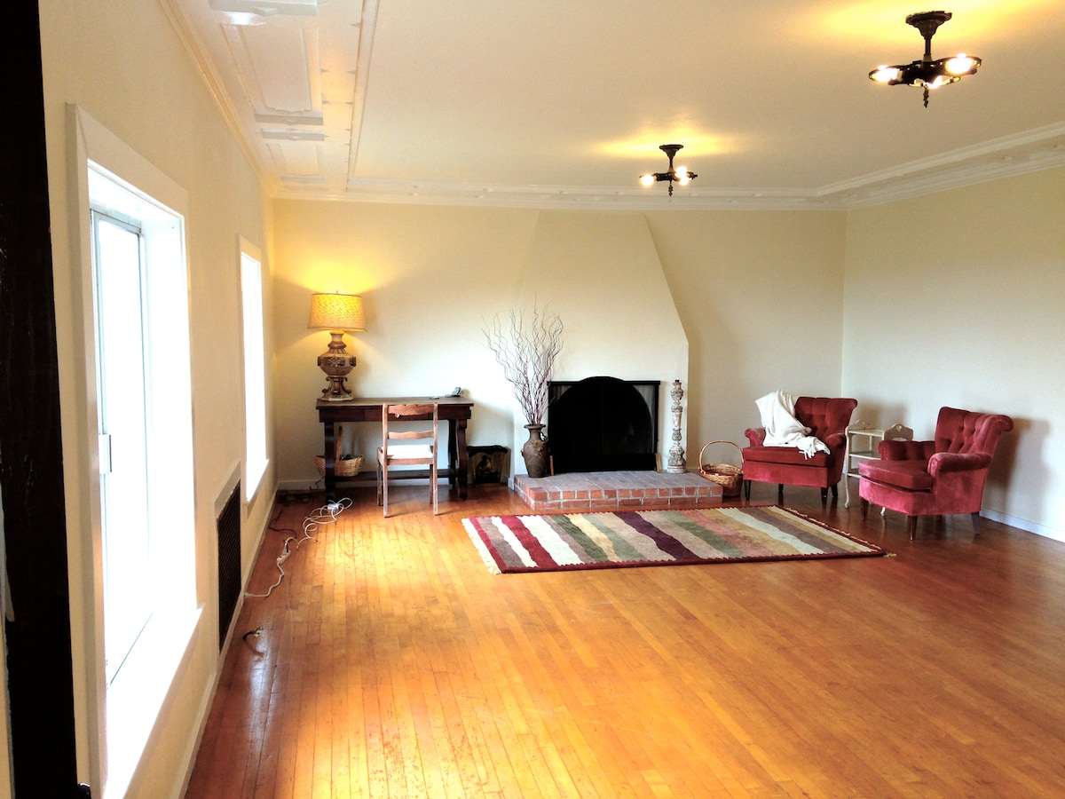 Your Bedroom - it was a 1920's Ballroom