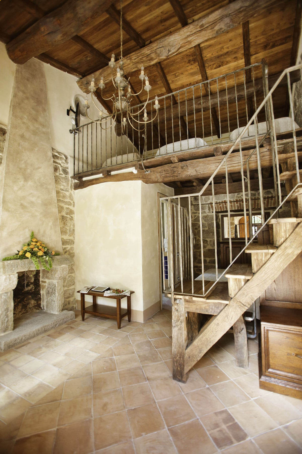 Ruspante Hostelry, Bastiano room