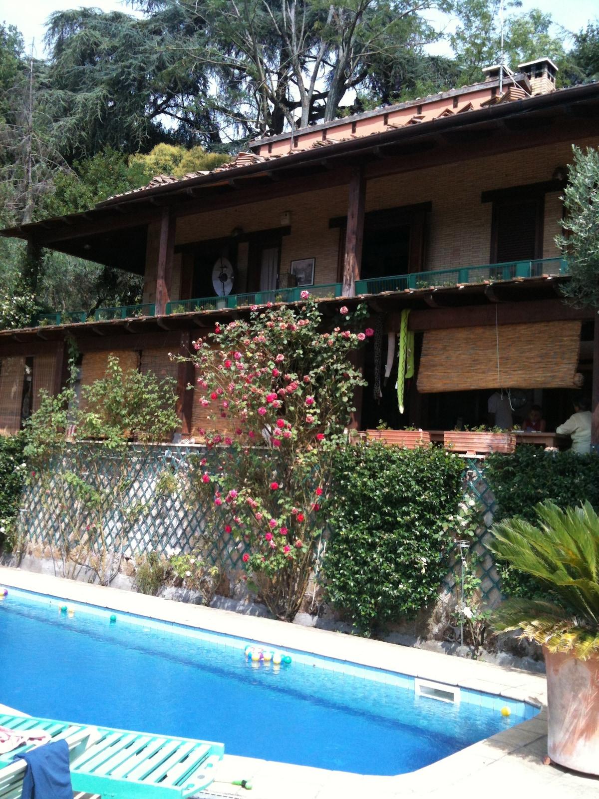 wonderful villa with pool an garden
