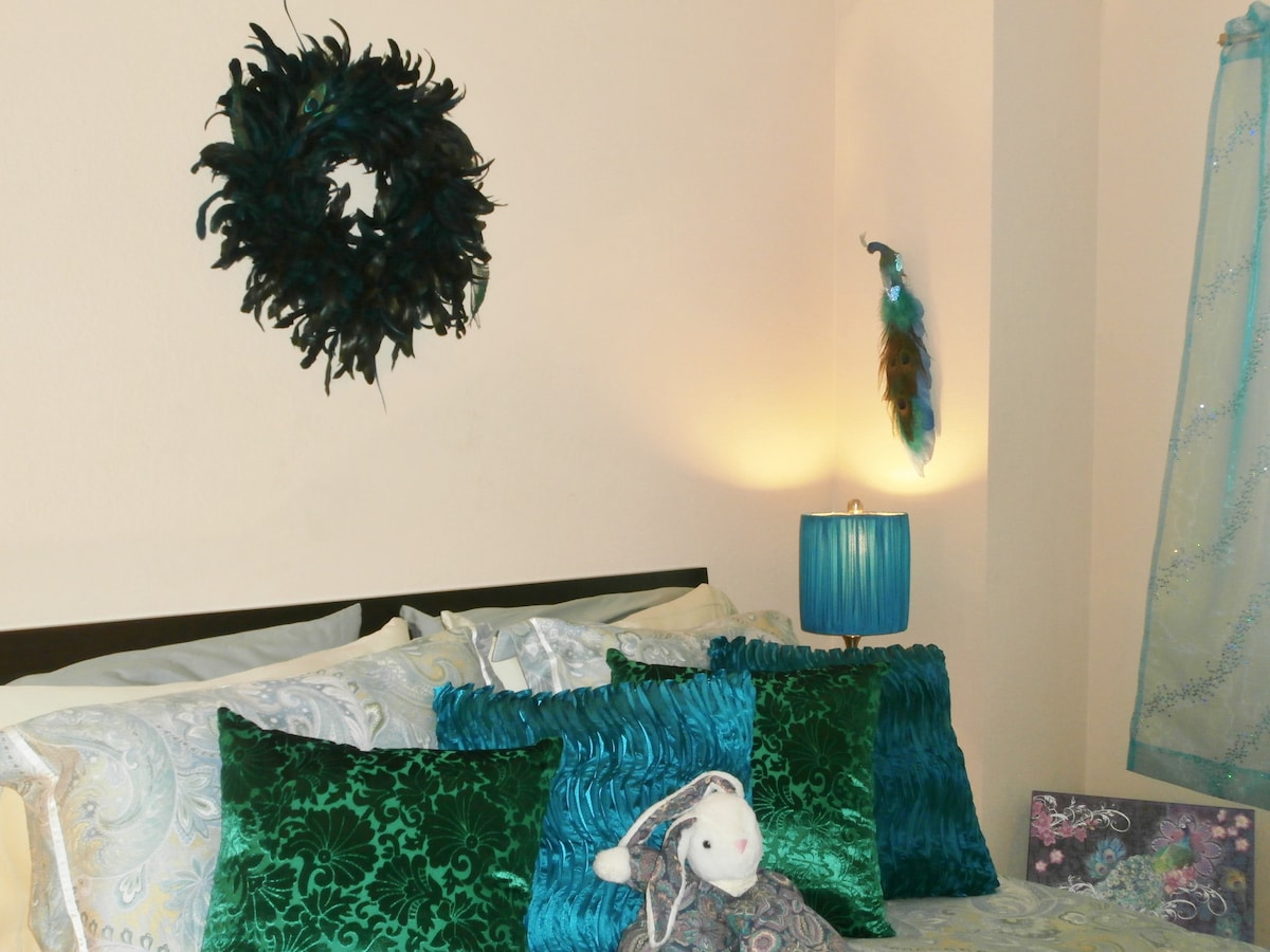 Every bed has both feather and foam pillows to suit your needs...