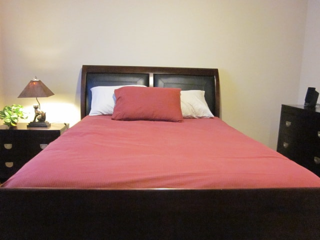 Super comfy queen-size bed that all guests rave about.