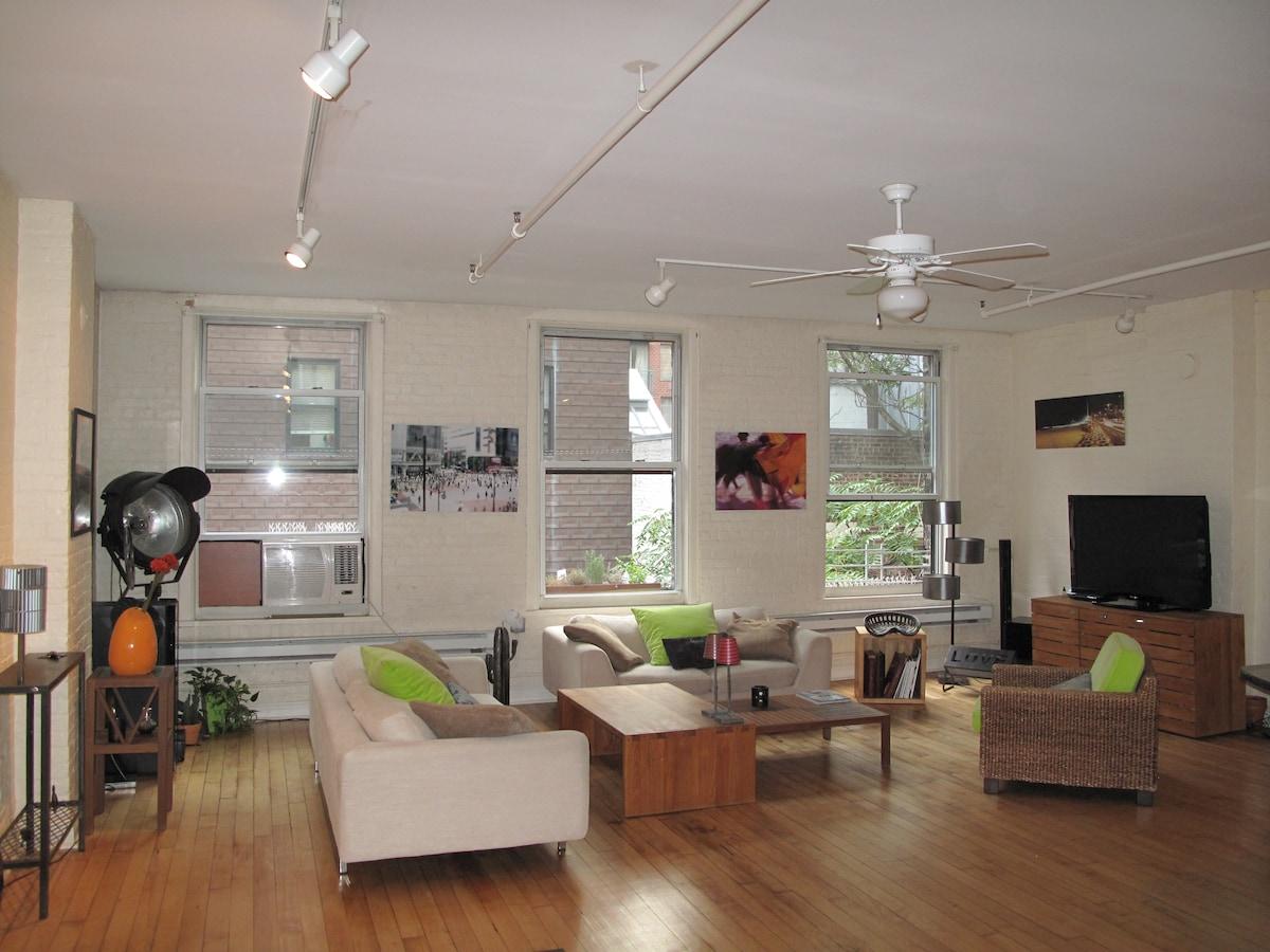 Tribeca loft 2BDR / 1400 sqf