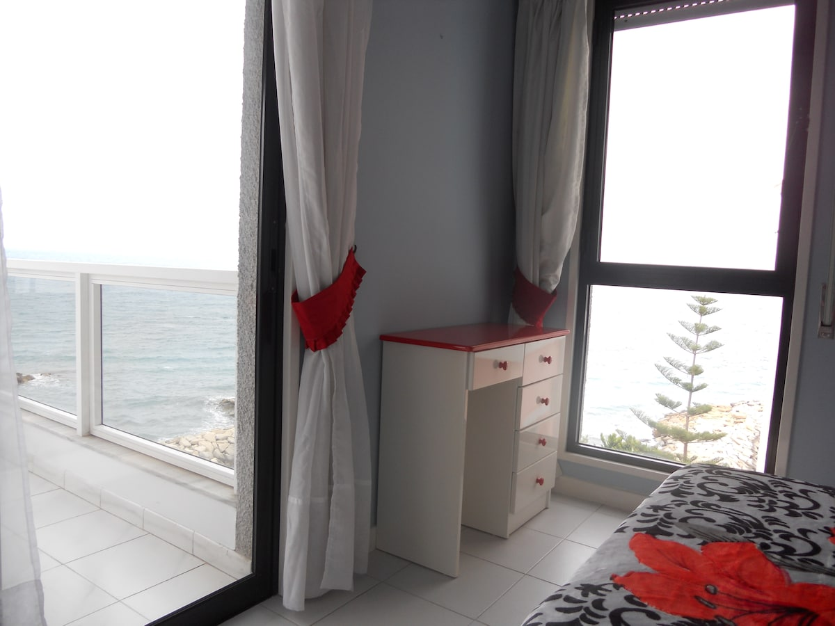 Seaview Masters' Bedroom with Terrace