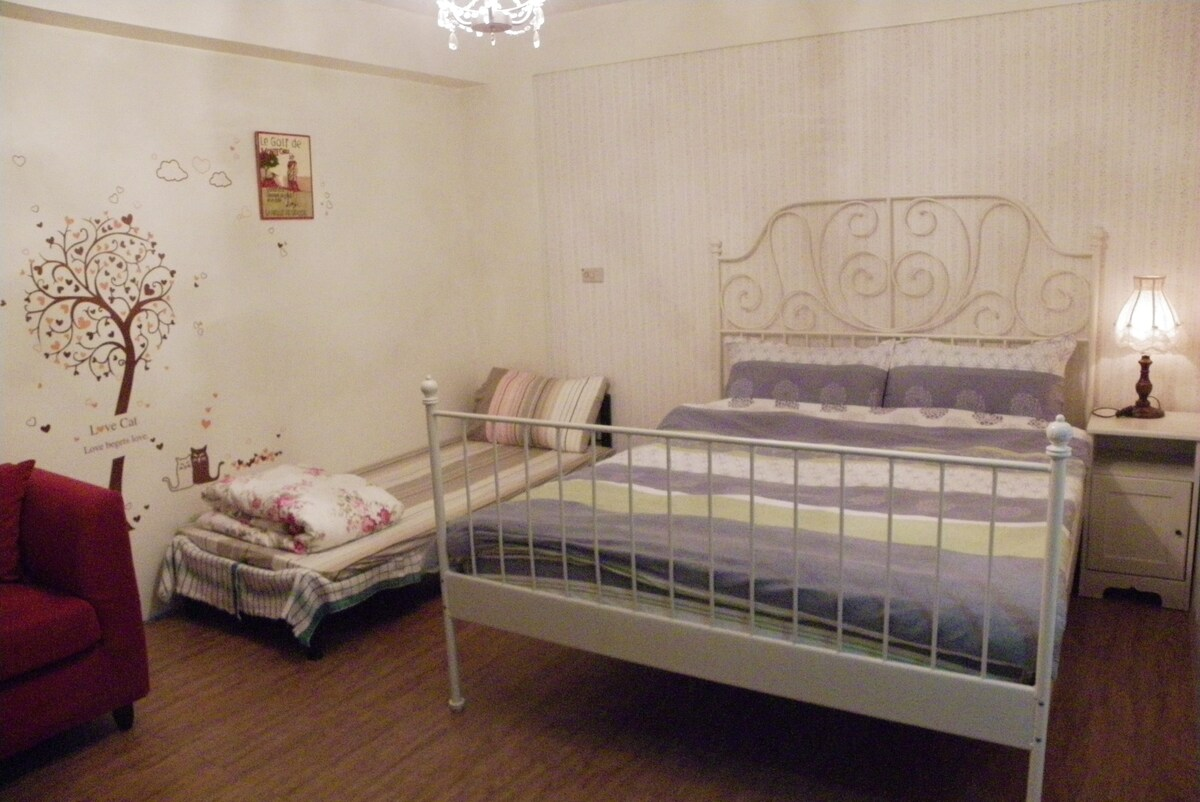Beds for 3 persons (最多可住3人)