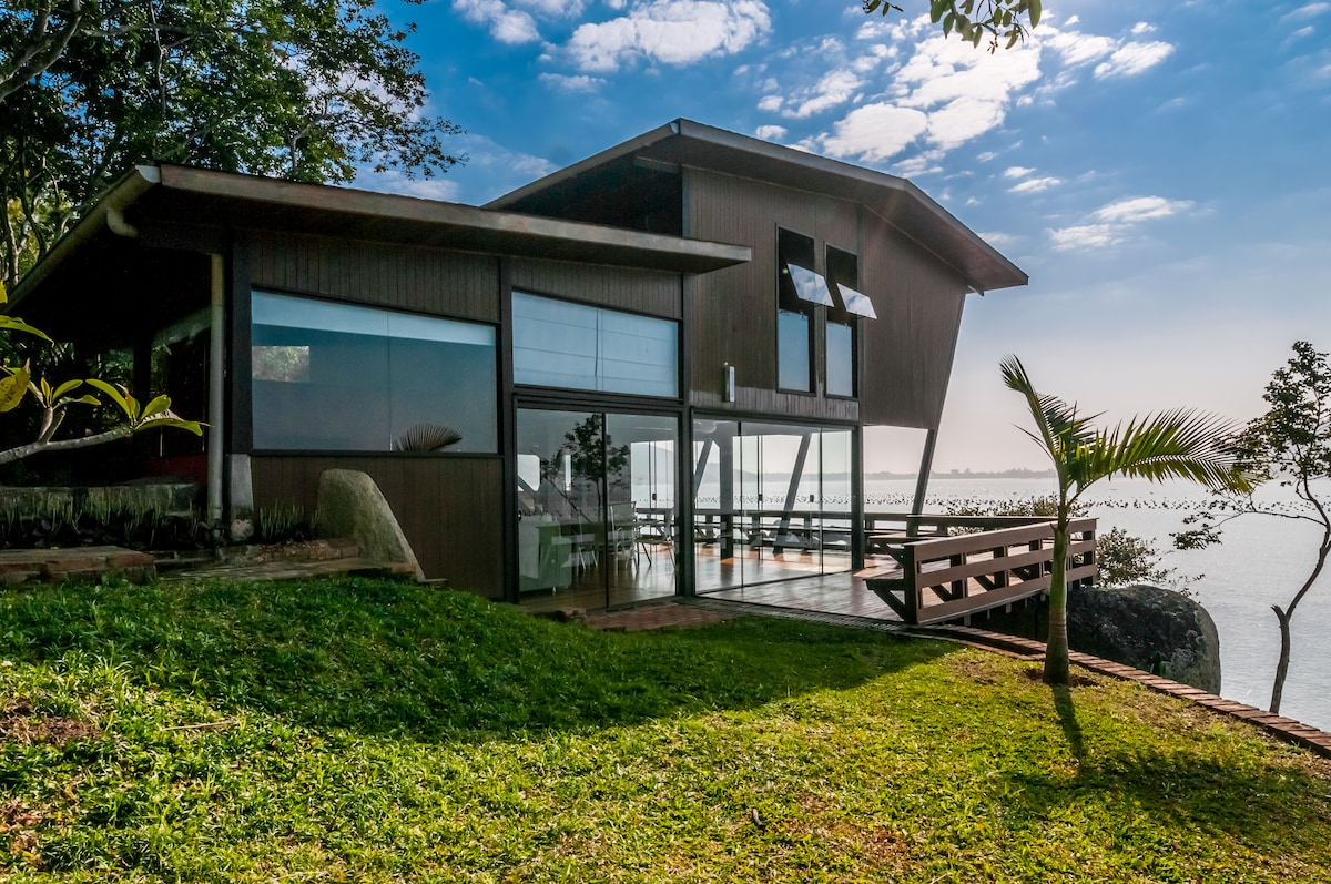 View of the beach house