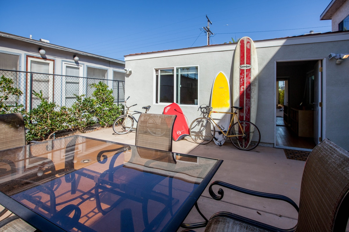 Pacific Beach Fun Surf Bike Cottage