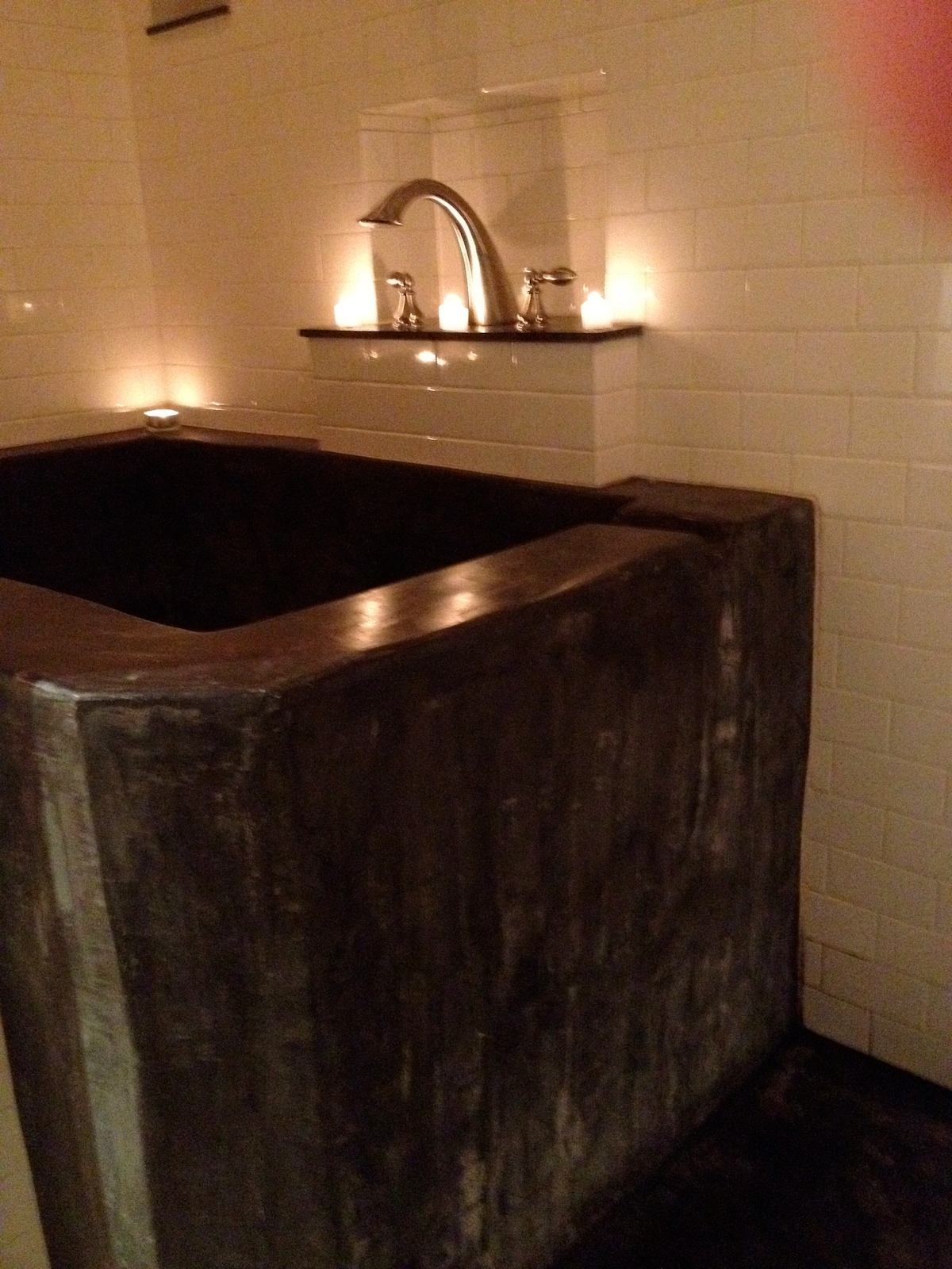 Soaking Tub - Front View