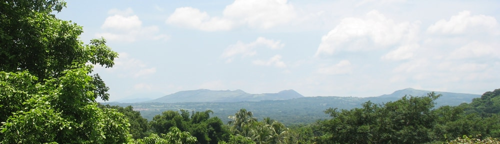 View of the Masaya Volcano