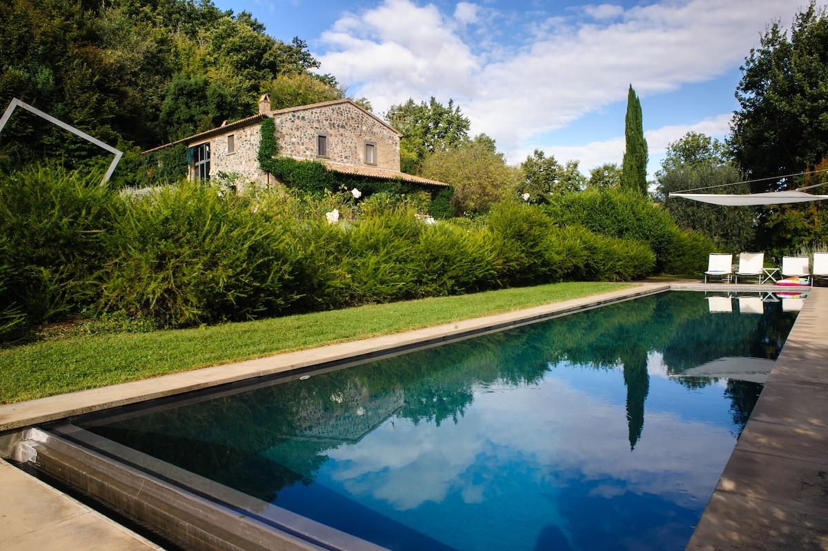 Stanza in Villa a Bagnoregio