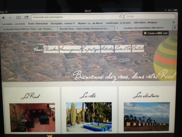 For more details on the Riad, our suggested adresses in Marrakech, follow the link mentioned above the picture in the browser