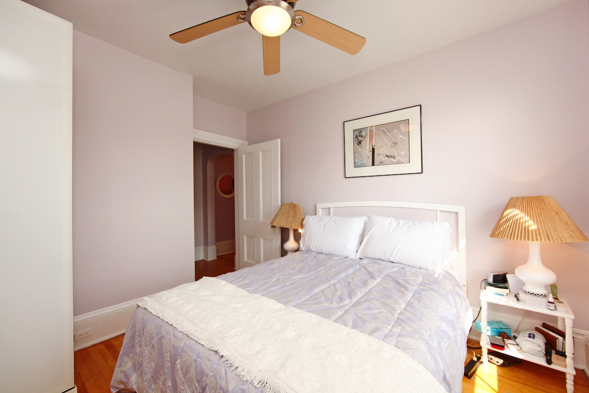 Linens included and housekeeping bi-weekly.