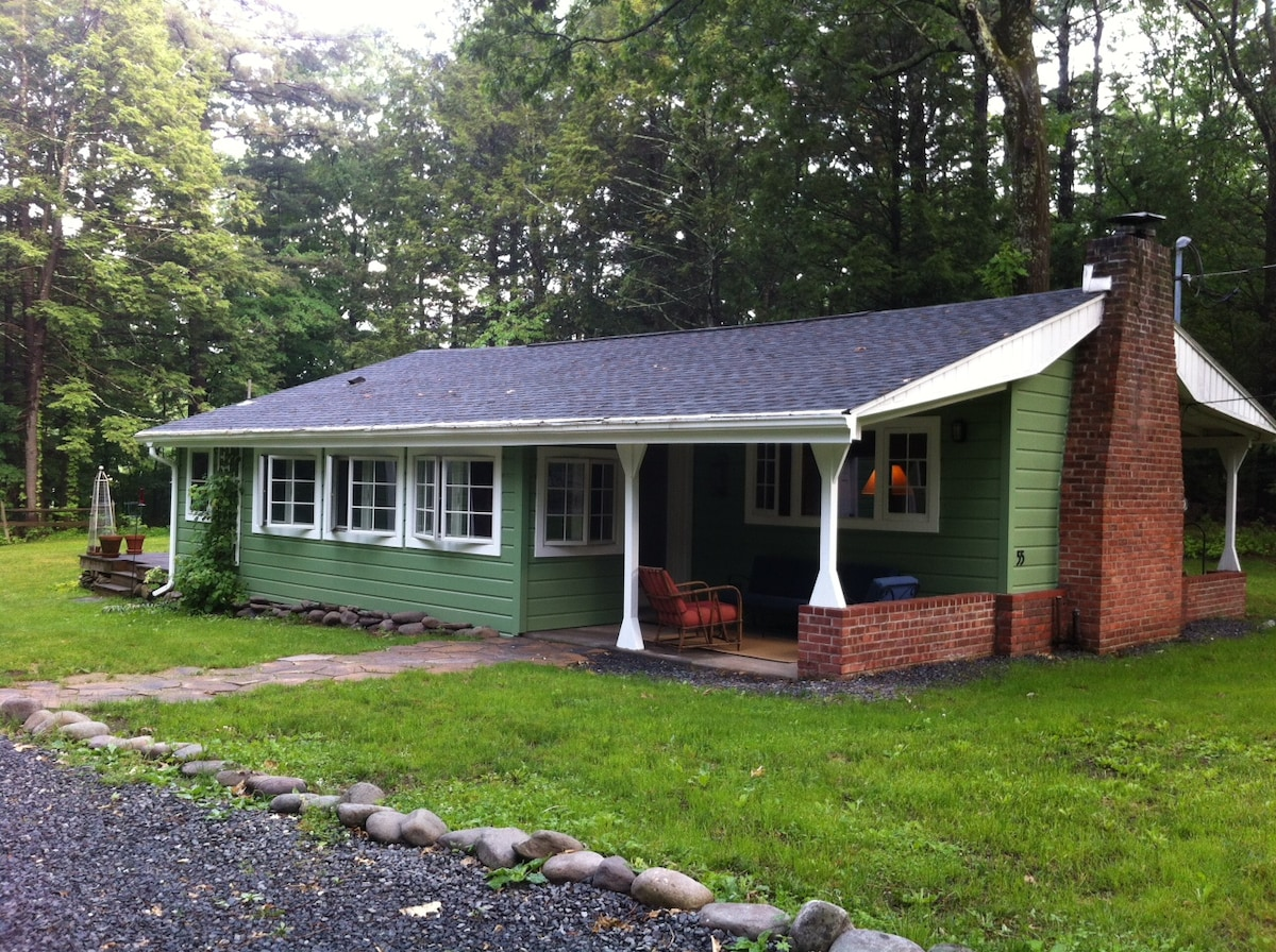 Green Cottage in the Catskill Mtns