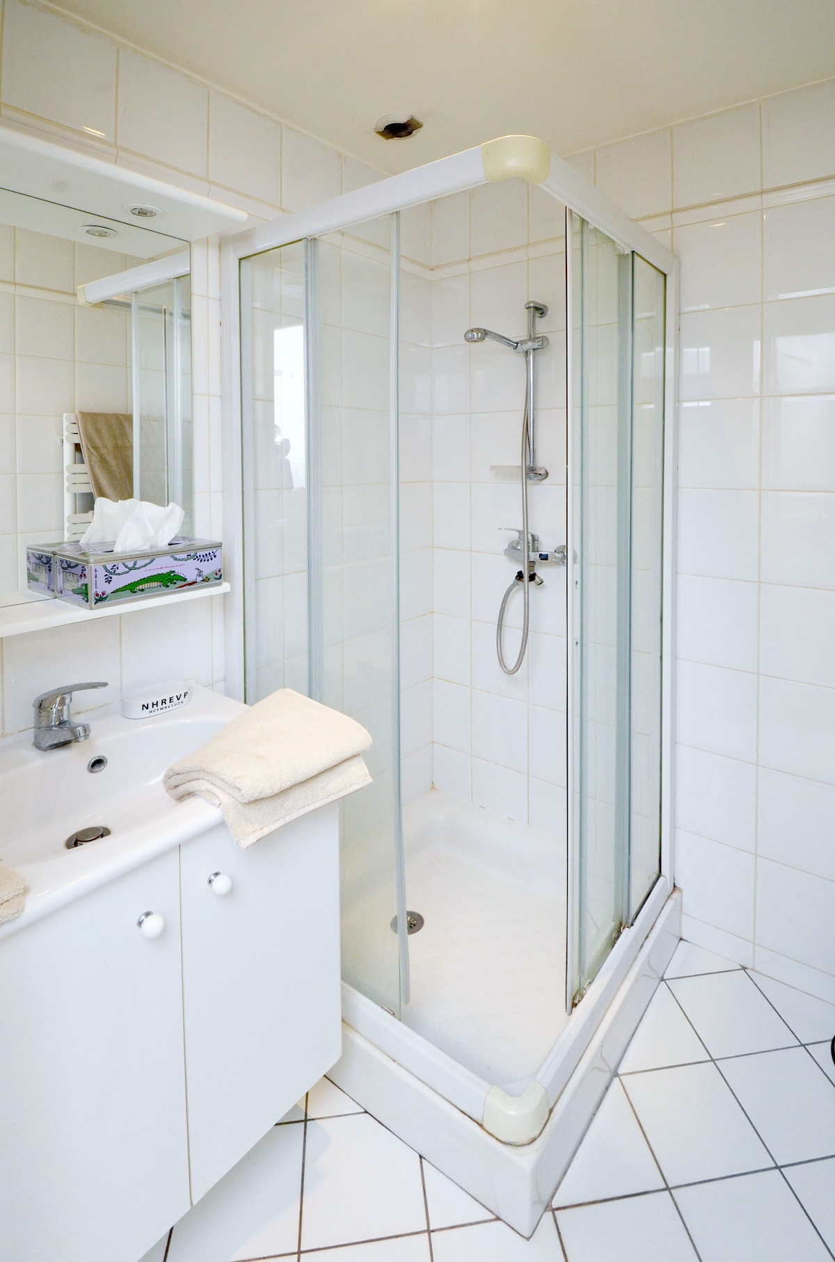 The bathroom !