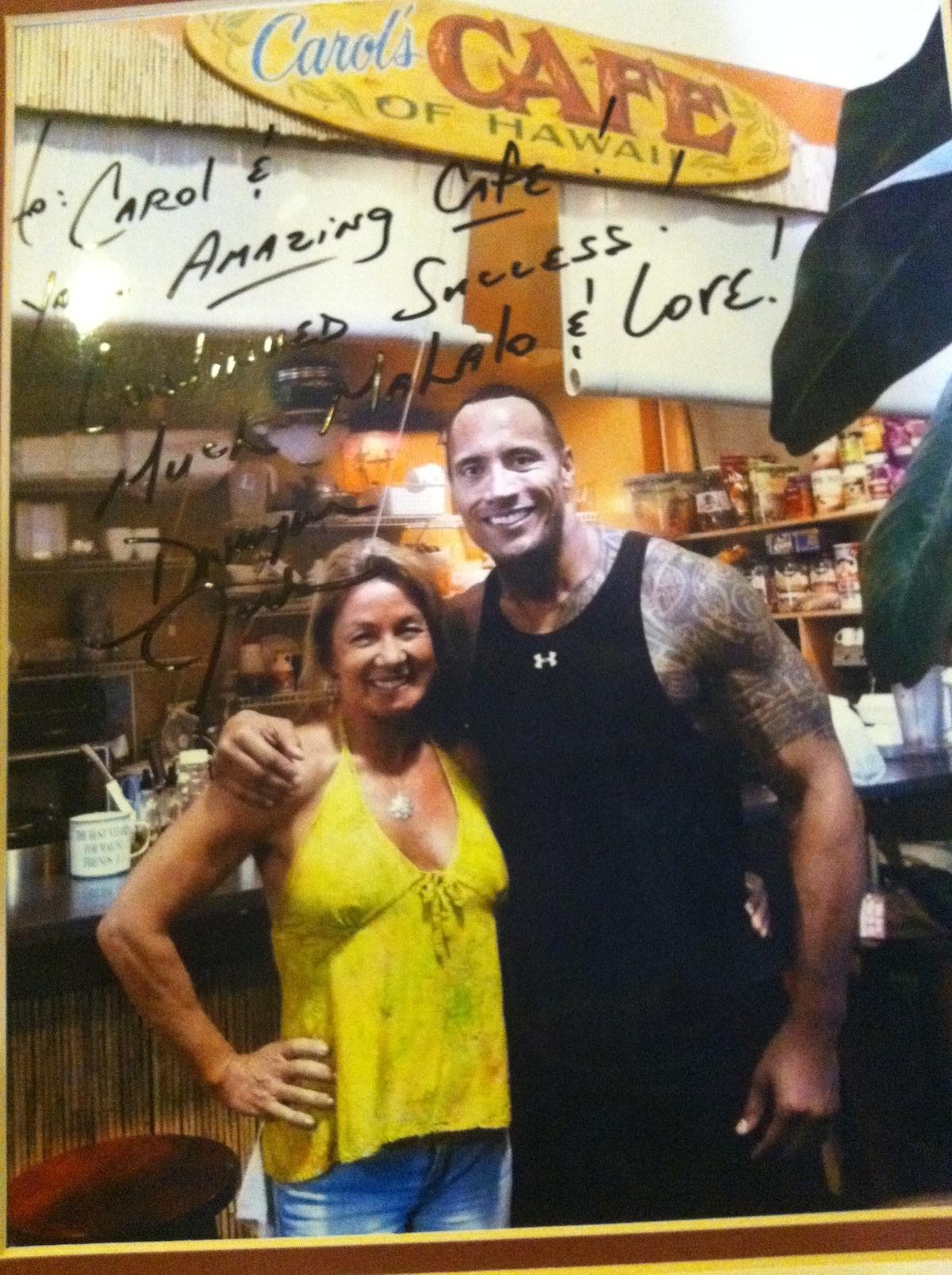 Famous client of Carols Cafe!!!