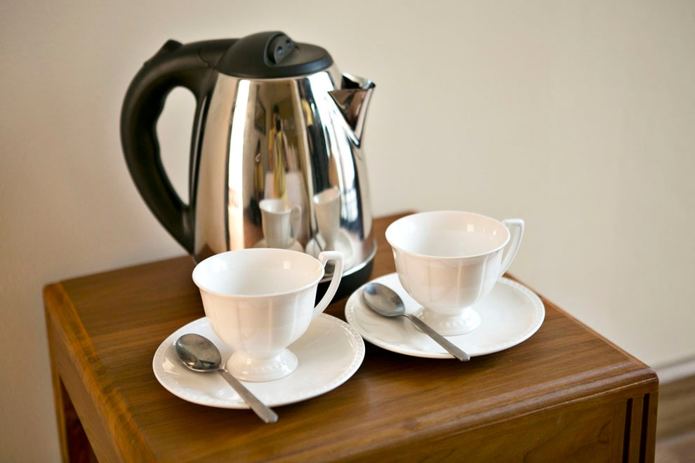 All rooms come with coffee, tea making electric kettle.