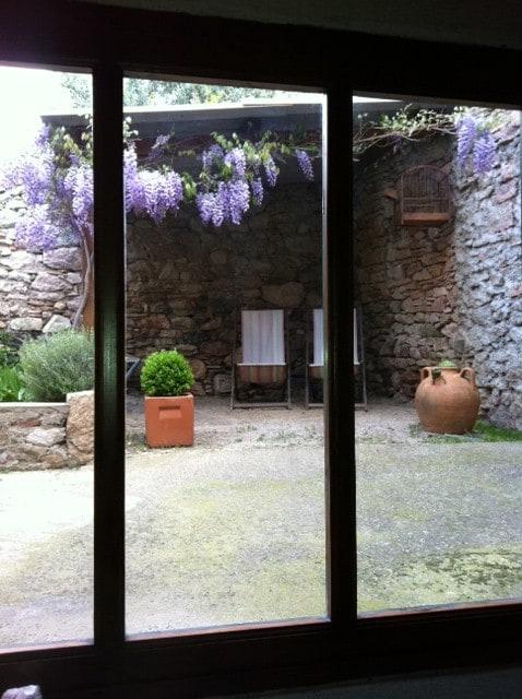 Grange de vigneron réaménagée