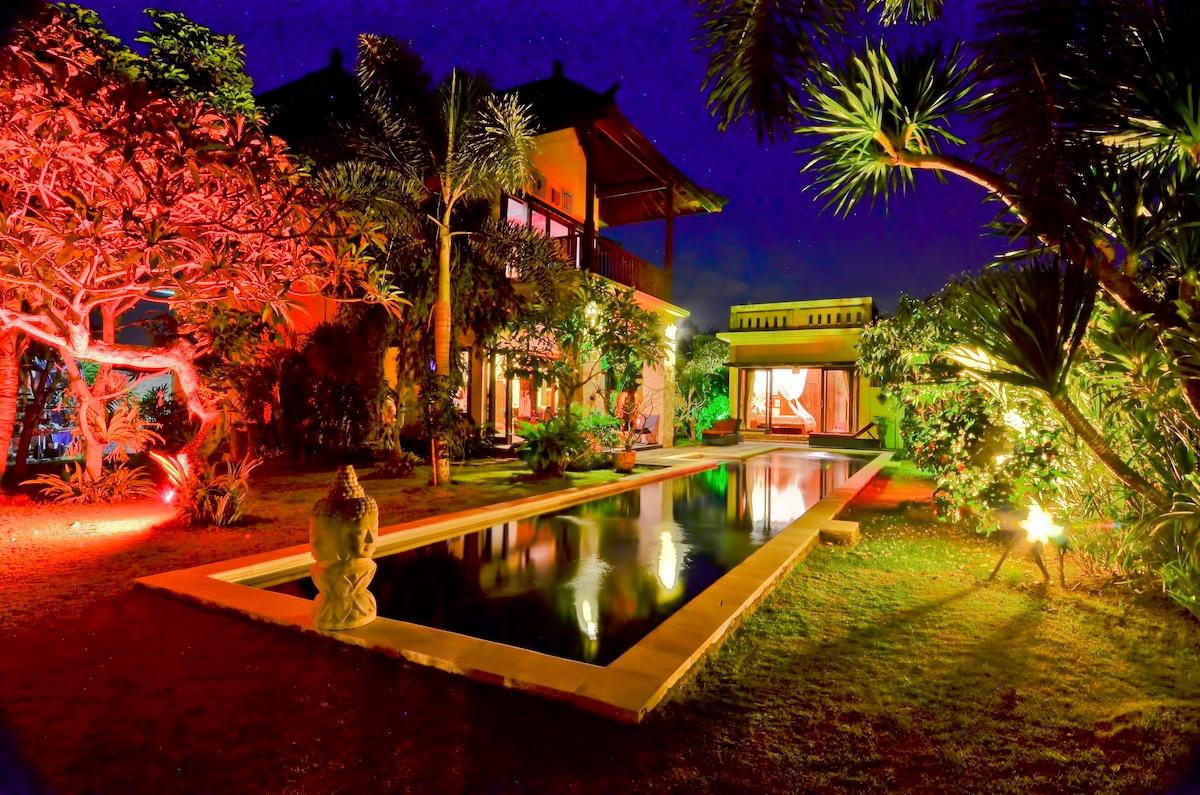 Villa,island of the Gods, Bali