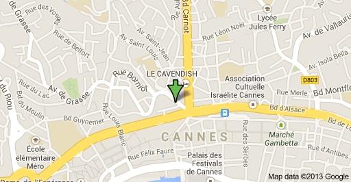 Cannes 5 mns walk Croisette WiFi