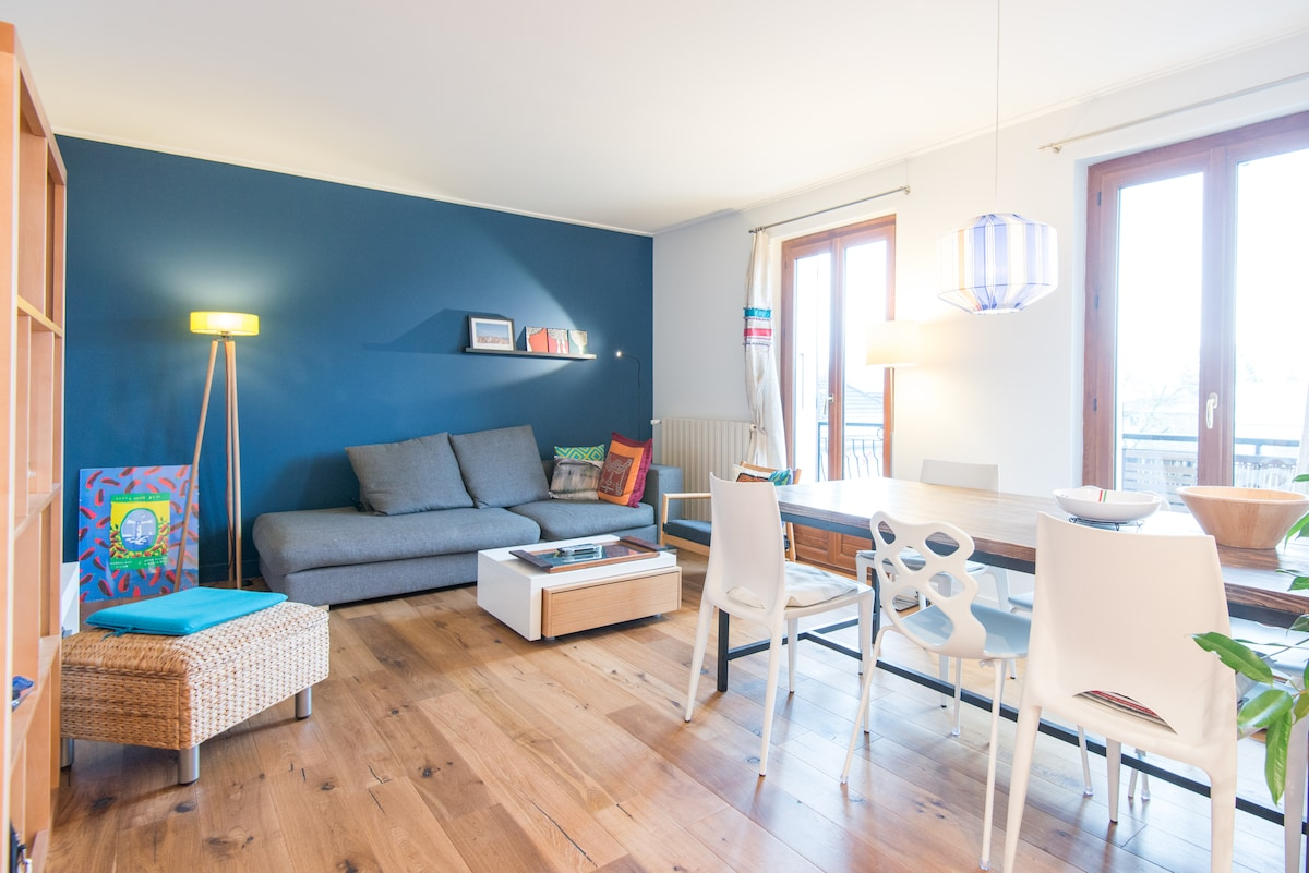 Lovely appartment in Annecy for 4p