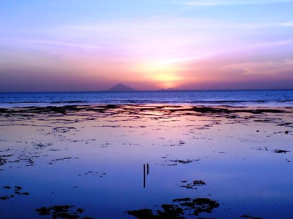 Each sunset is different, offering different colors of beauty