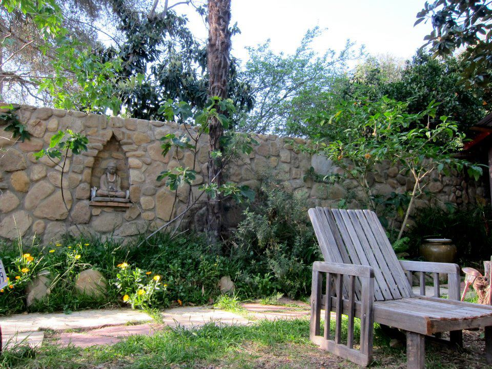 Relax in our beautiful garden areas