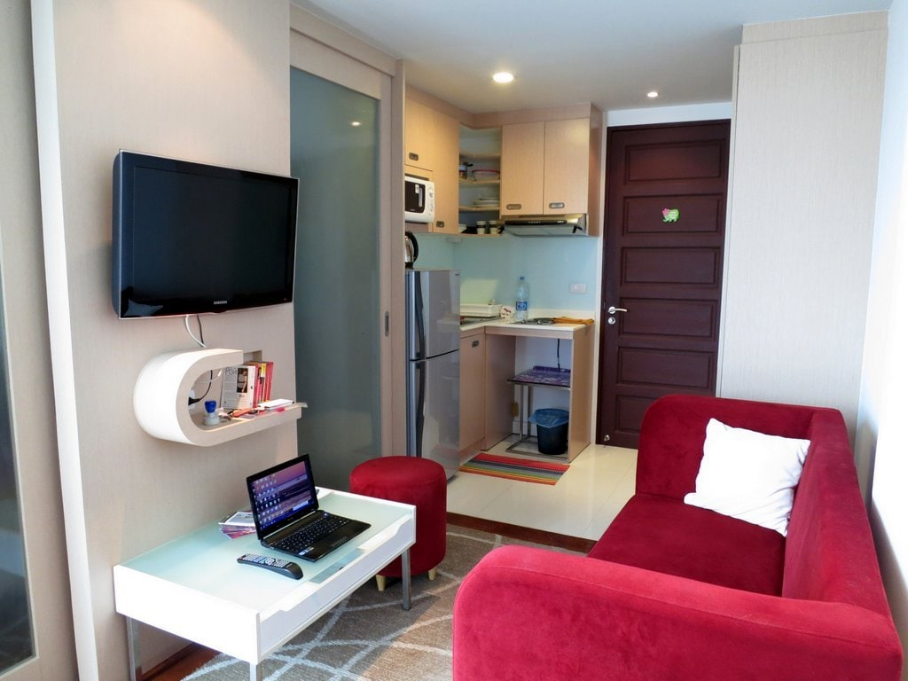 Modern apartment in Patong pool gym