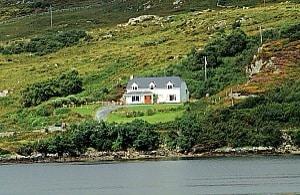 Seaview property in Connemara