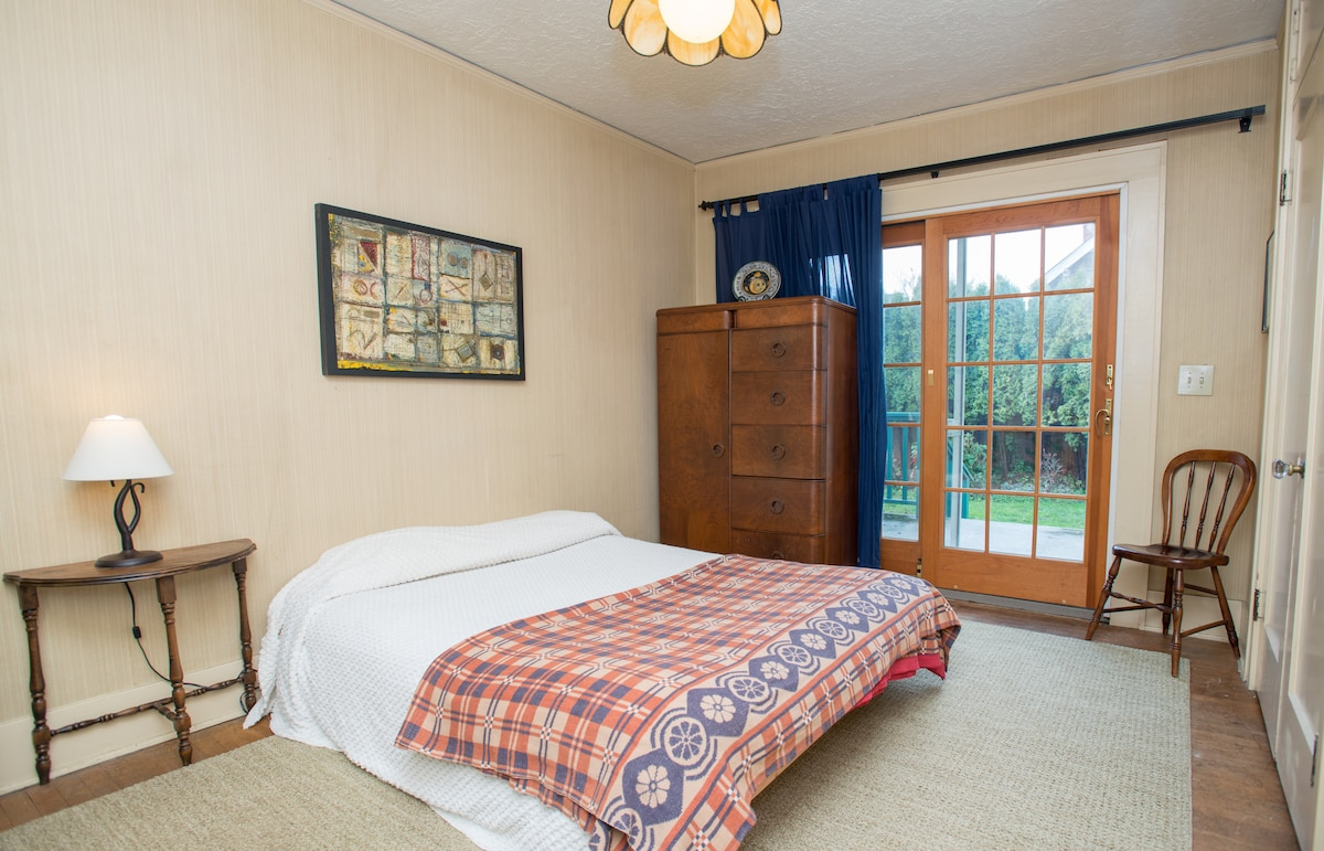 This is your super comfy room!  It has dressers and an armoire!