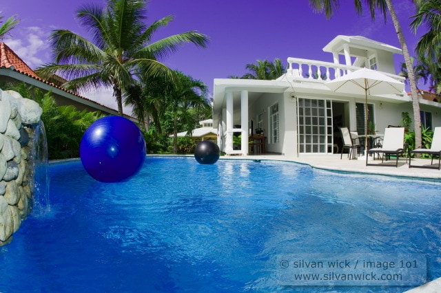 Pool at our Cabarete Beach House, called Villa Quebecoise, or Bahia de Arena Casa 26.  This house is also for sale, message if interested!