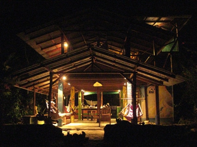 Casa Aire Libre in the forest reserve of the Corcovado National Park