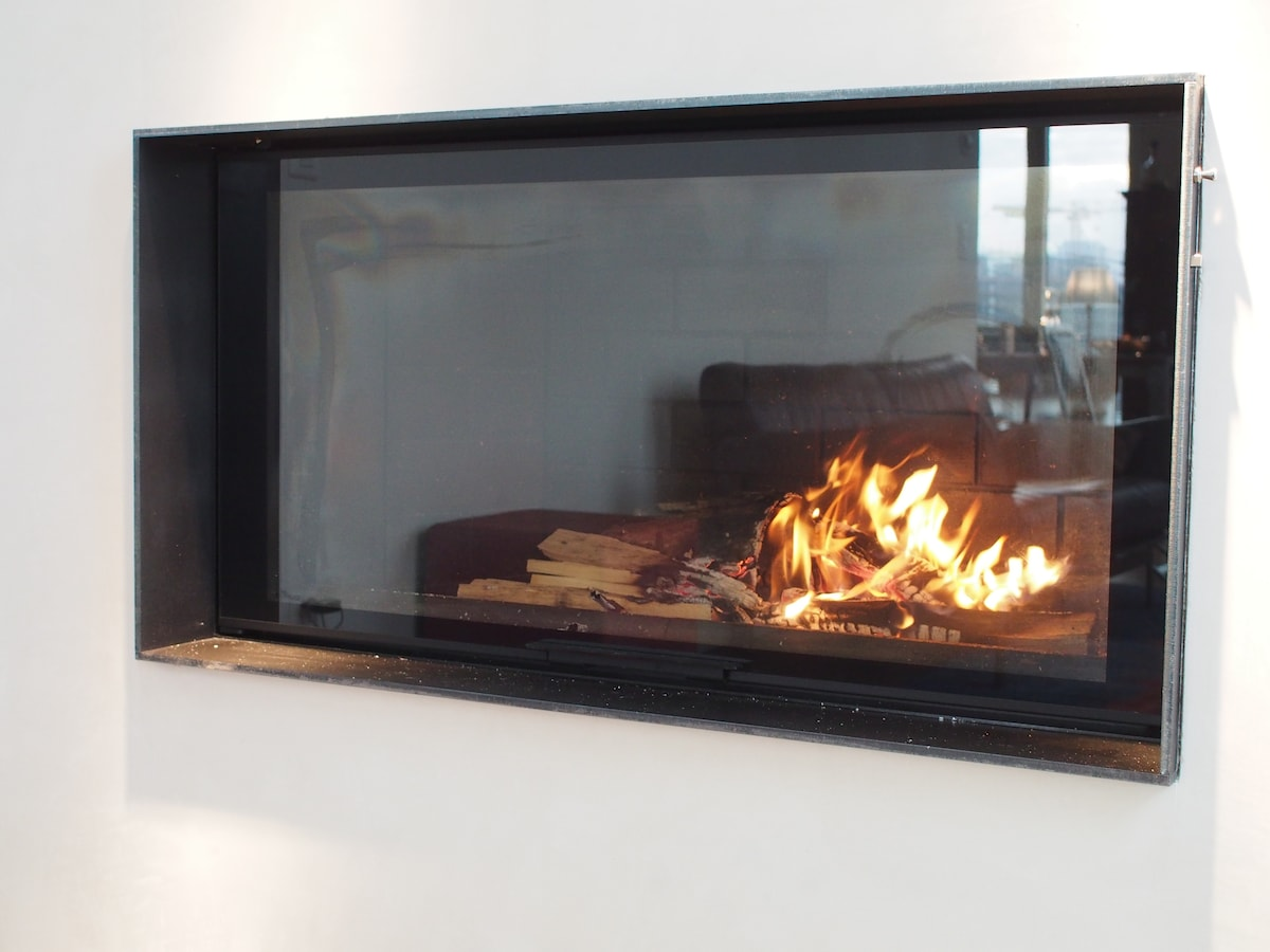 Fireplace to warm your soul