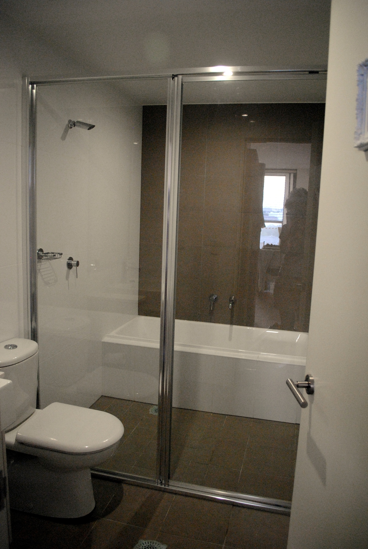 Own bathroom with bath and shower