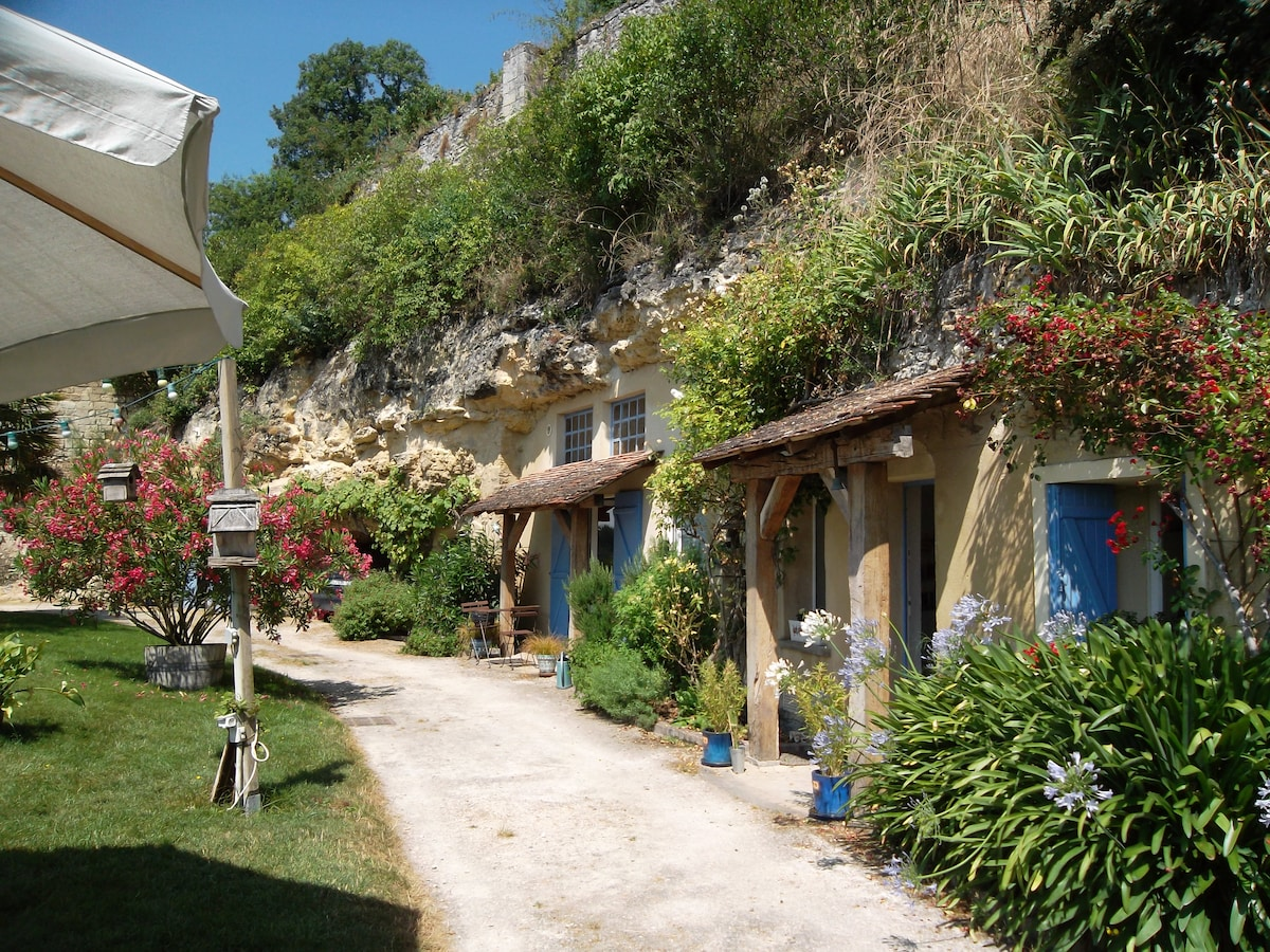 Locations saisonni res et locations de courte dur e - Chambre d hote troglodyte tours ...